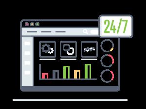 24/7 Web Based System